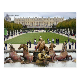 Versailles, Paris. Postcard