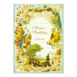 Versailles Peacock Garden Wedding or Event Personalized Invite