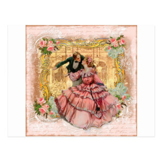 Versailles Romantic Dance Postcards