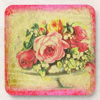 Versailles Roses Coasters