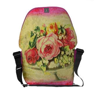 Versailles Roses Custom Messenger Bag