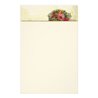 Versailles Roses Pastiche Stationery II