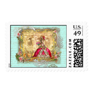 Versailles Tea Party/Masquerade  Postage Stamps