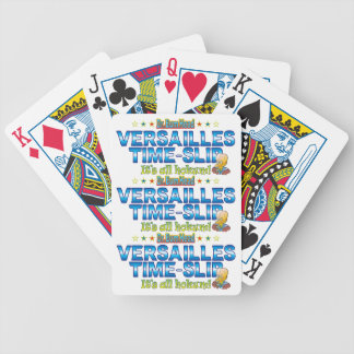 Versailles Time-Slip Dr. B Head Bicycle Playing Cards