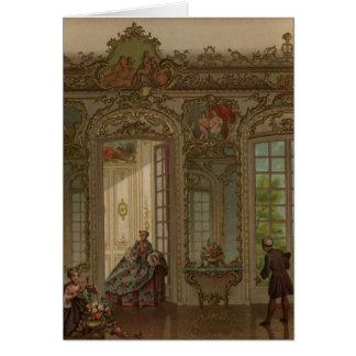 Versalles cotidiana tarjeta