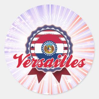 Versalles, MES Pegatina Redonda