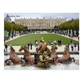Versalles, París Postal