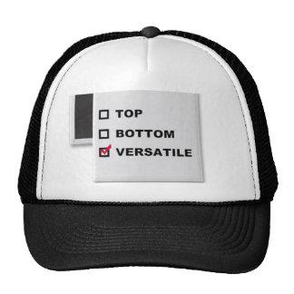 VERSATILE check Trucker Hat