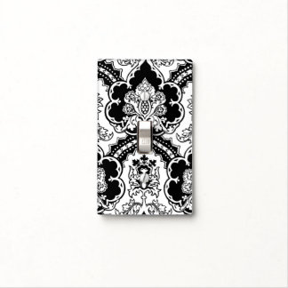 Versatile monochrome Gothic remix for any decor Light Switch Cover