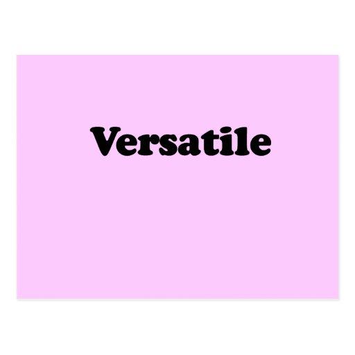 VERSATILE T-SHIRT POST CARDS