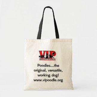 Versatility in Poodles Tote Bag