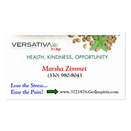 Versativa Biz Card Business Cards