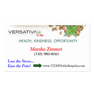 Versativa Biz Card Double-Sided Standard Business Cards (Pack Of 100)