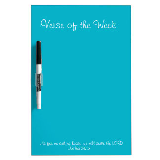 Verse of the Week Dry Erase Board