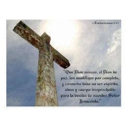 Versicle of the bible postcard