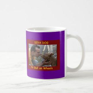 Versión 10 de la taza de café del PERRO de la DIVA