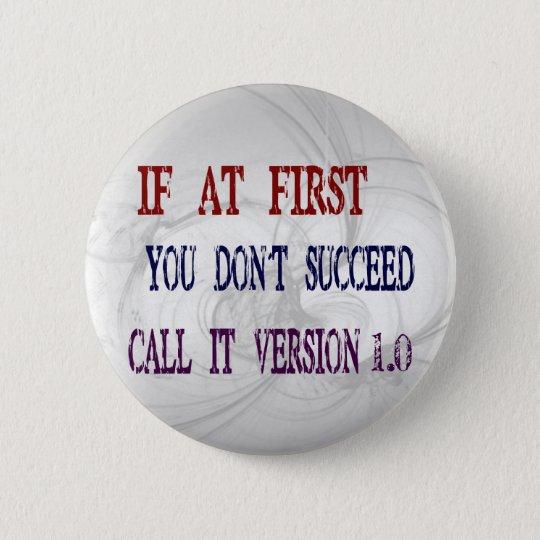 Version 1.0 button