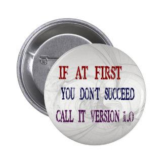 Version 1.0 2 inch round button