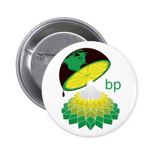 Versión 1 (botón) del logotipo de BP Pin Redondo 5 Cm