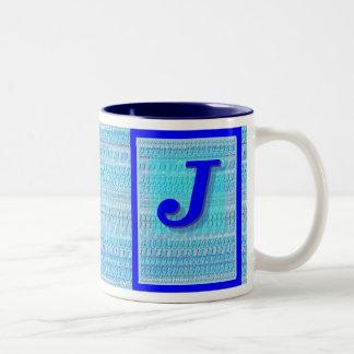 """Versión 1 de los """"j azules"""" tazas"""