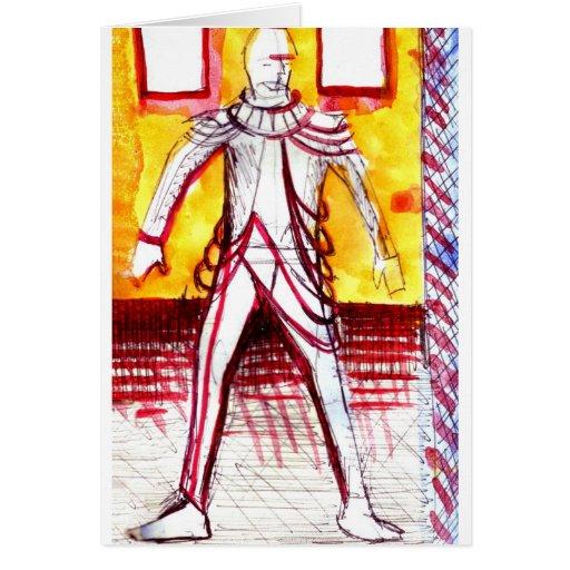 Versión 1 del diseño del traje tarjeton