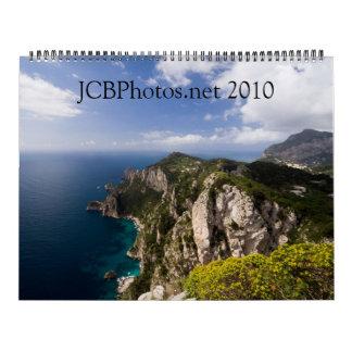 versión 2010 de JCBPhotos.net 1 Calendario