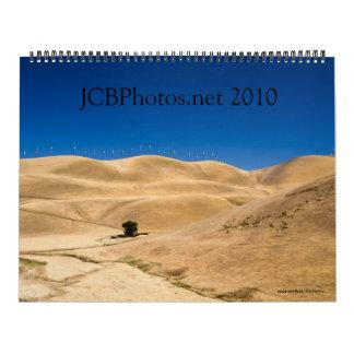 versión 2010 de JCBPhotos.net 2 Calendario