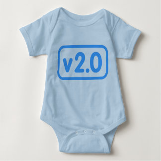 Version 2.0 baby bodysuit