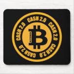 Versión 2,0 del efectivo de Bitcoin Tapete De Ratones