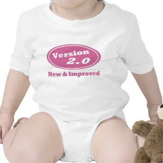 Version 2.0 New and Improved Funny Baby One-Piece Bodysuits