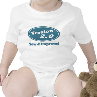 Version 2.0 New & Improved Cool Baby One-Piece Bodysuits