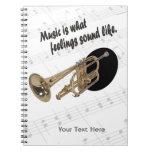 Versión #2 de la trompeta - como qué sensaciones s libretas