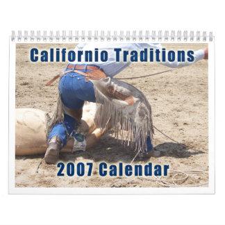 Versión 2 del calendario de las tradiciones 2007