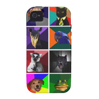Versión 2 del caso del iPhone 4 de los animales iPhone 4/4S Fundas