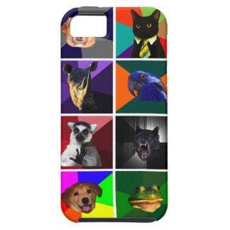 Versión 2 del caso del iPhone 5 de los animales iPhone 5 Fundas