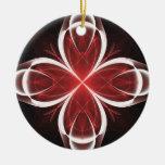 Versión 2 del fractal de la cala ornaments para arbol de navidad