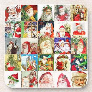 Versión 3 de 25 diversa Santas Posavasos
