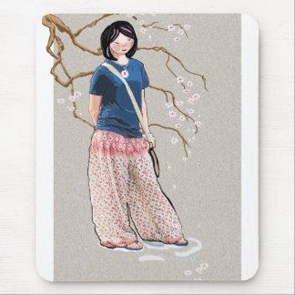 Versión 3 del chica de Sakura Alfombrillas De Raton