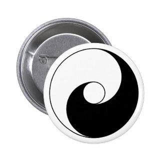 Versión antigua de Taijitu por Lai Zhi-De Yin Yang Pin