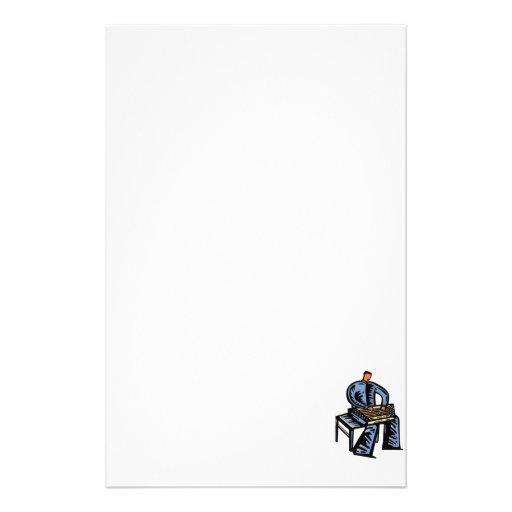 Versión azul gráfica martillada del jugador del Du Papeleria