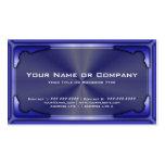 Versión de tarjeta metálica de alta tecnología 1 c plantilla de tarjeta de negocio