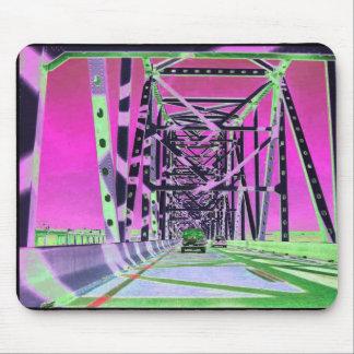 versión del popsicle de la bahía del puente alfombrillas de raton