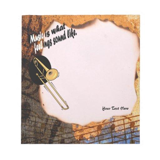 Versión del Trombone - como qué sensaciones suene Blocs