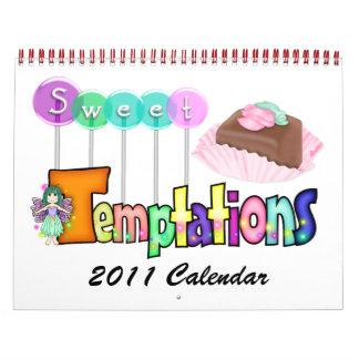 Versión dulce 1 de las tentaciones - SRF Calendarios De Pared