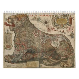 Versión holandesa 1 del calendario de Anno 1652 de