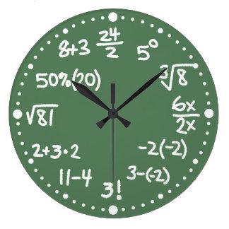 Versión matemática dos del reloj de las ecuaciones