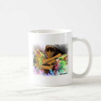 Versión modelo 2 del duendecillo taza de café