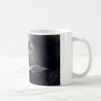 Versión parcial de programa del papel del tornado taza de café