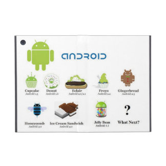 Versiones androides (la historia) iPad mini fundas