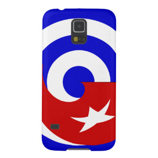 Versions of the flag of Cuba Case For Galaxy S5